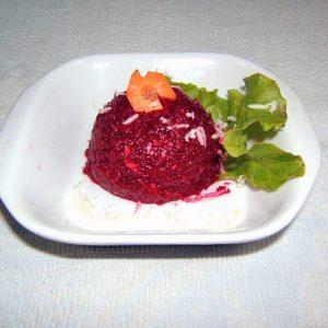 Salata sfecla rosie cu hrean